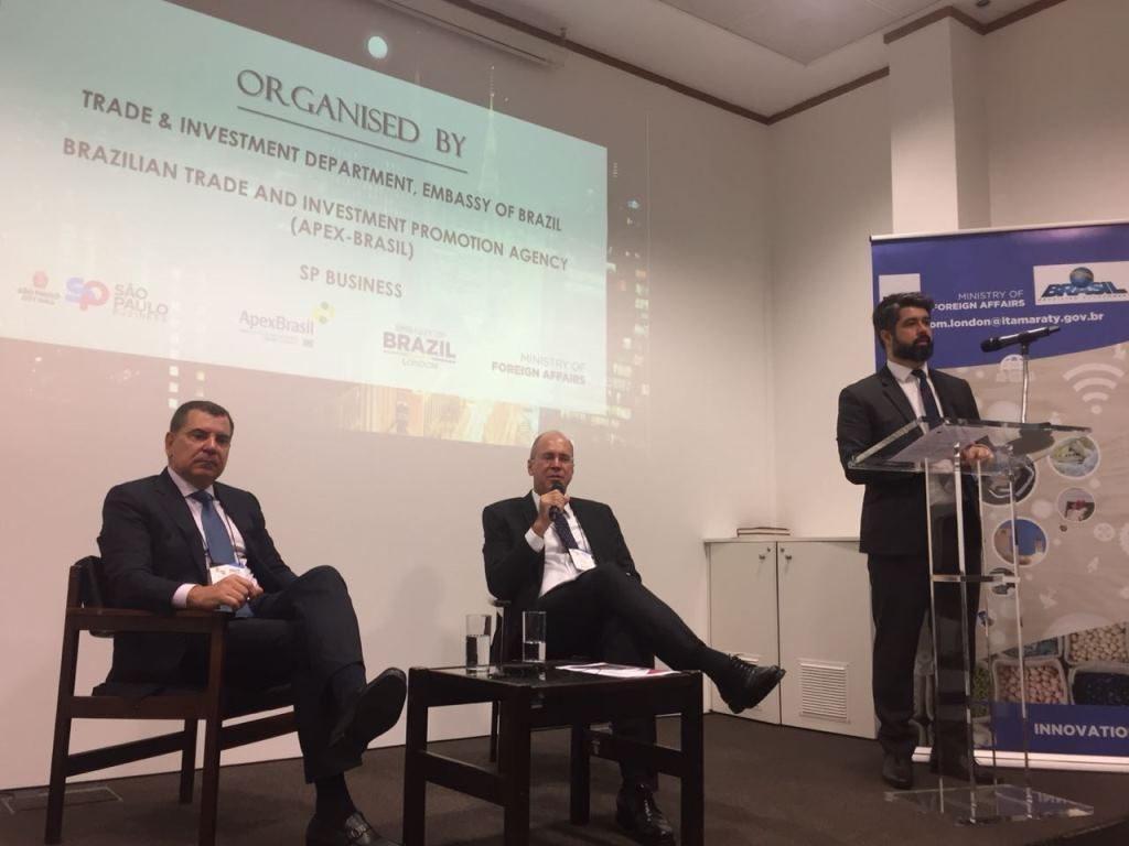 Reunião com 70 investidores no segundo dia da missão em Londres