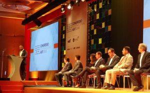 Prefeito Bruno Covas e SP Negócios participam da abertura do Congresso Internacional da Abit