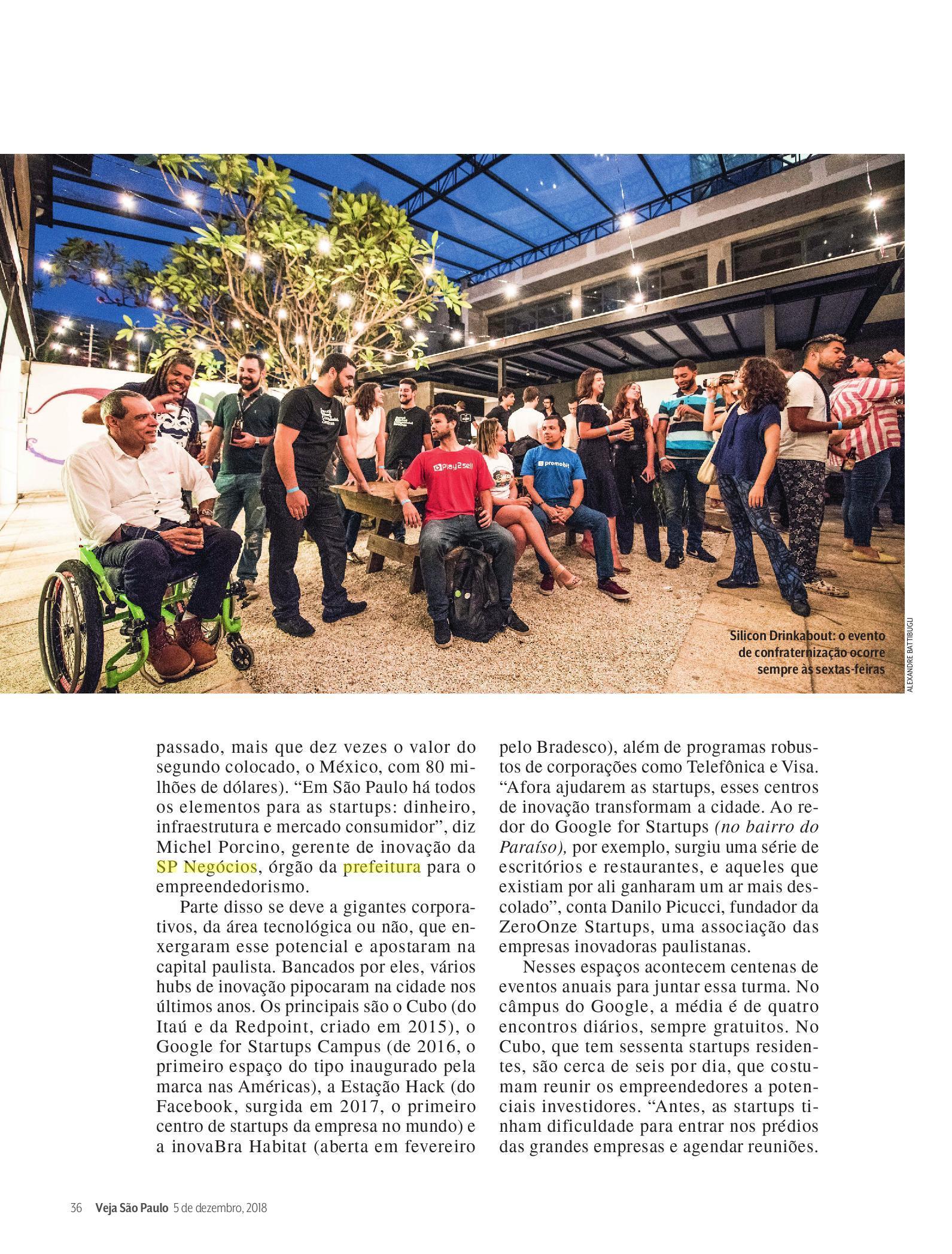 """São Paulo Negócios e as """"startups unicórnios"""", em destaque na Veja SP"""