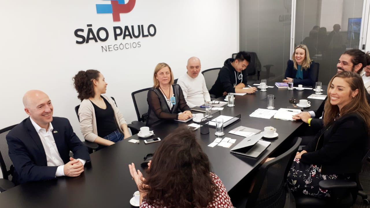 SP Negócios dá boas vindas a empresários estrangeiros que participam da SP Tech Week