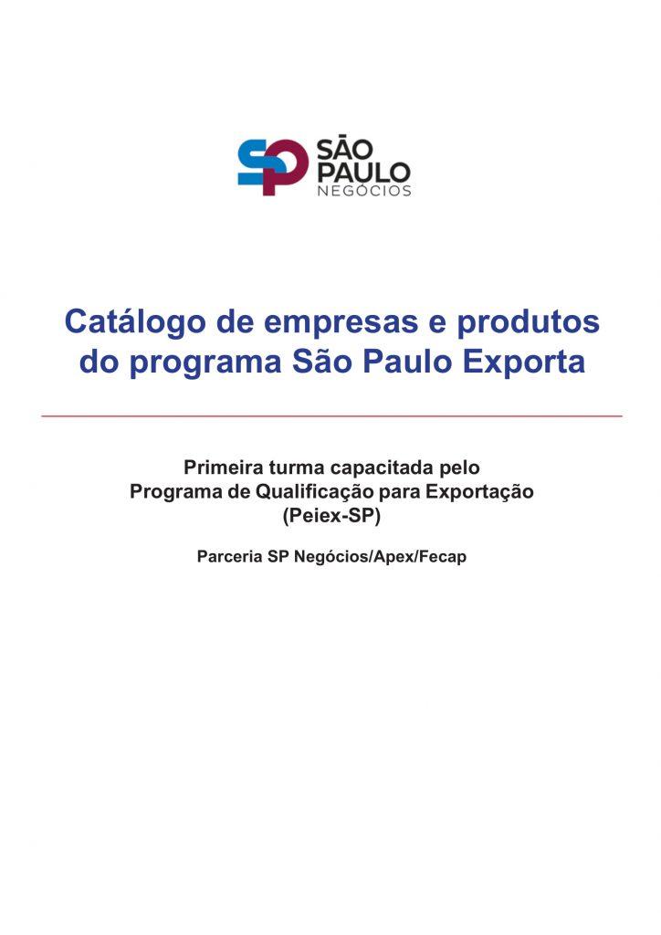 SP Negócios lança catálogo de empresas e produtos do programa São Paulo Exporta 1