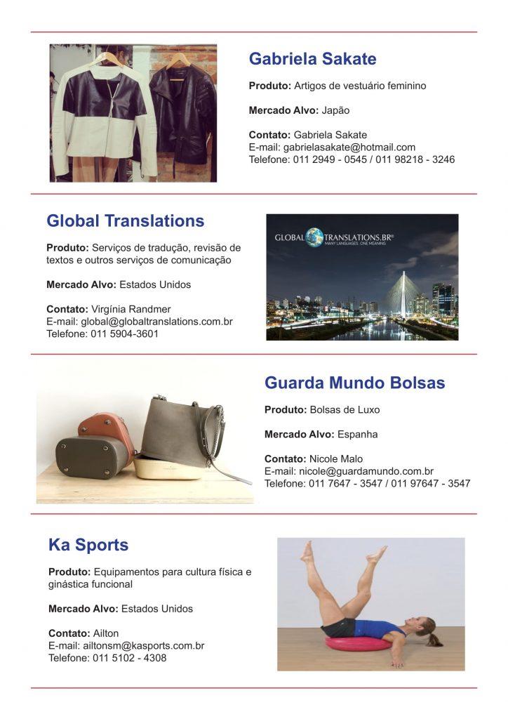 SP Negócios lança catálogo de empresas e produtos do programa São Paulo Exporta 6