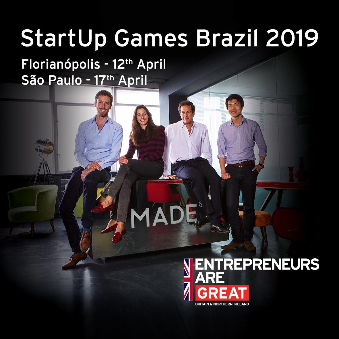 Start Up Games Brazil 2019