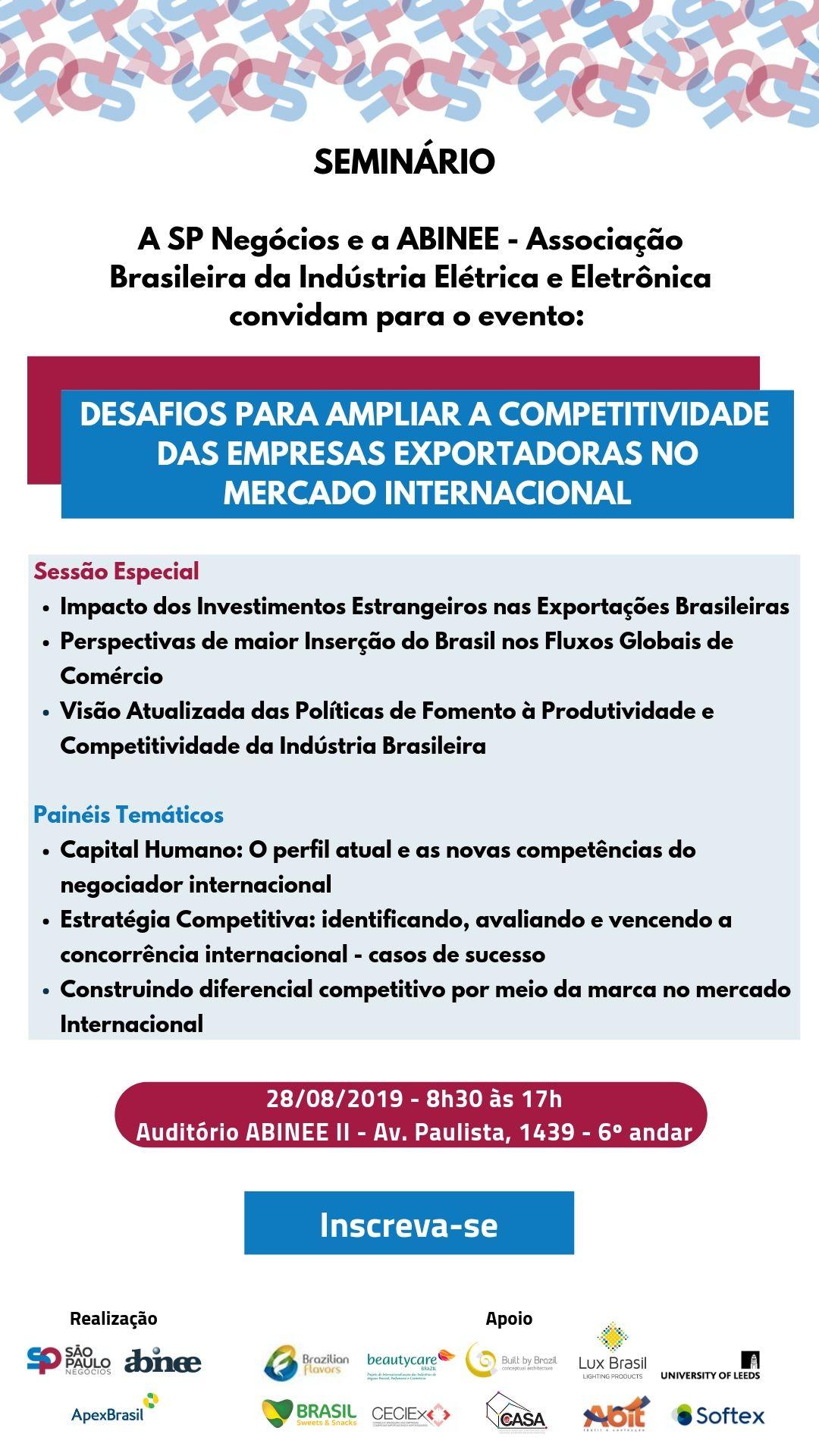 Desafios para ampliar a competitividade das empresas exportadoras no mercado internacional