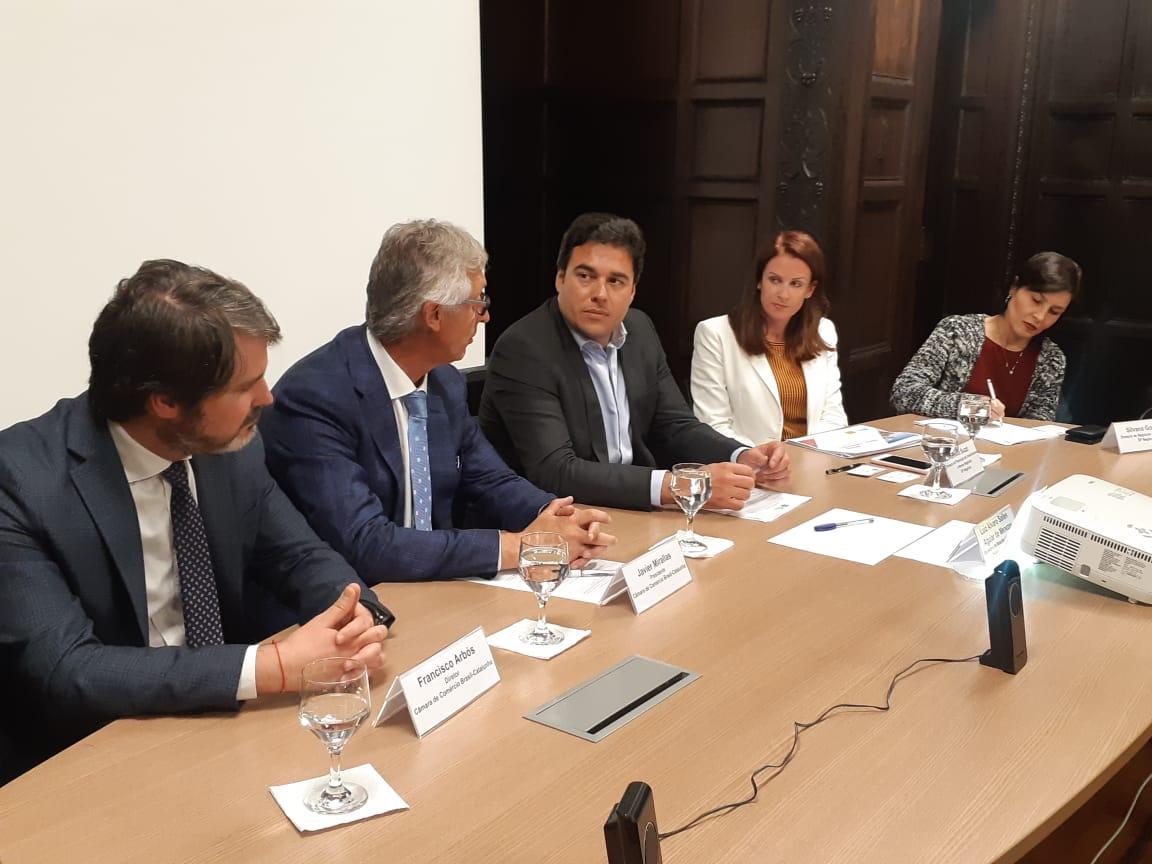 Encontro apresenta ambiente de negócios da cidade a empresários catalães