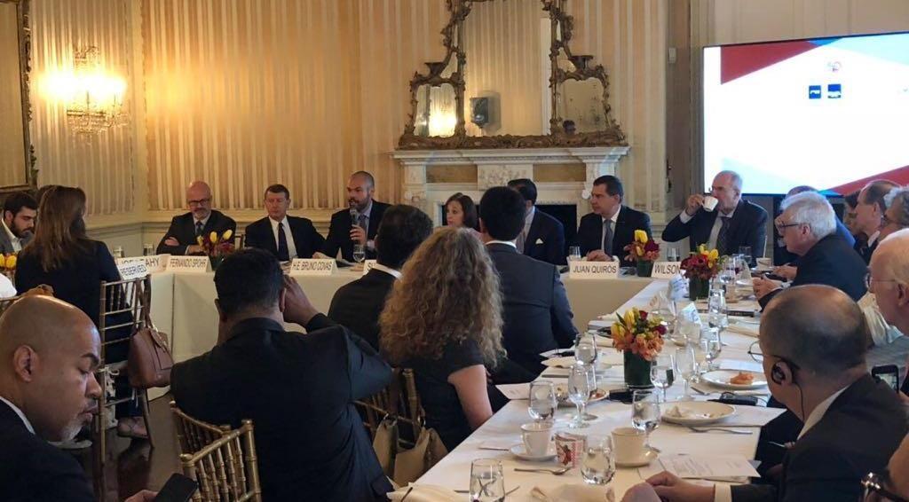Bruno Covas apresenta concessões a investidores nos EUA