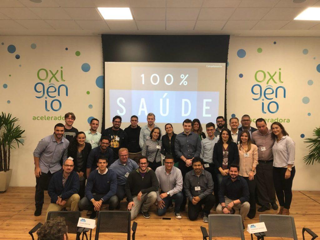 Programa 100% Saúde reúne 100 empreendedores de startups em São Paulo