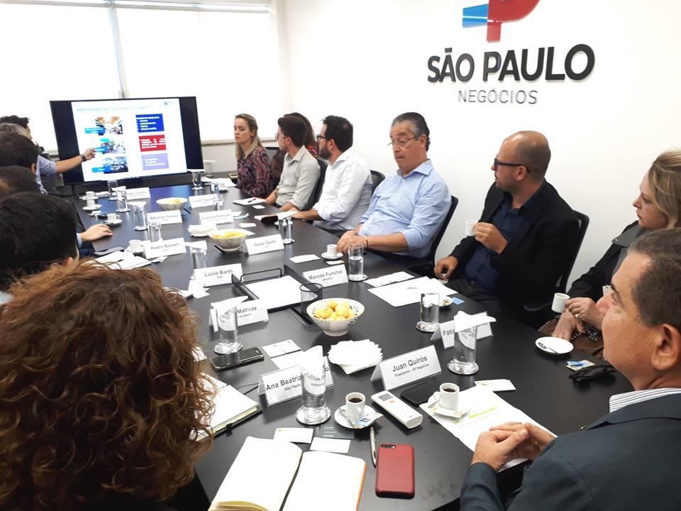 Reunião com interessados no Mercado de Santo Amaro